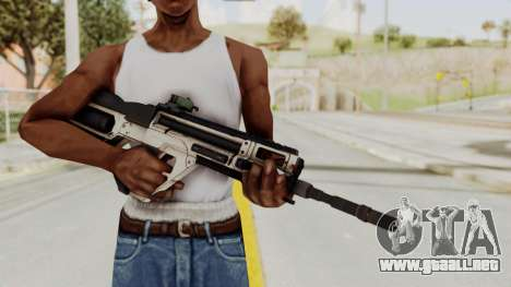 Integrated Munitions Rifle para GTA San Andreas tercera pantalla