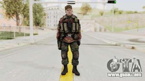 Battery Online Russian Soldier 10 v1 para GTA San Andreas segunda pantalla