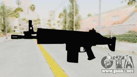 SCAR H para GTA San Andreas segunda pantalla