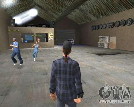 El interior de STO San Fierro v2.0 para GTA San Andreas tercera pantalla