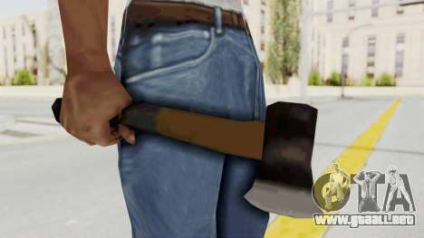 Liberty City Stories Handaxe para GTA San Andreas