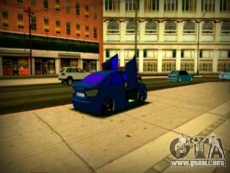 Lada Vesta Lambo para la visión correcta GTA San Andreas