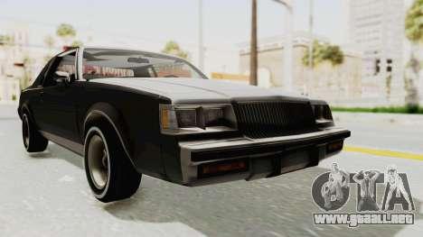 Buick Regal 1986 para GTA San Andreas