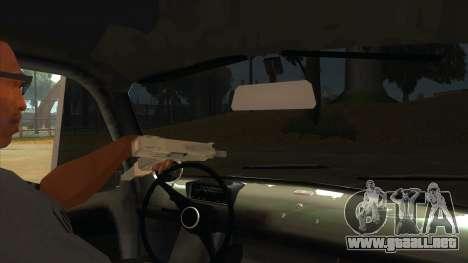Fiat 600 para visión interna GTA San Andreas