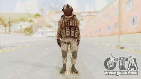 COD MW2 Shadow Company Soldier 2 para GTA San Andreas segunda pantalla