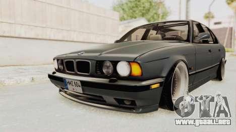 BMW M5 E34 USA para la visión correcta GTA San Andreas