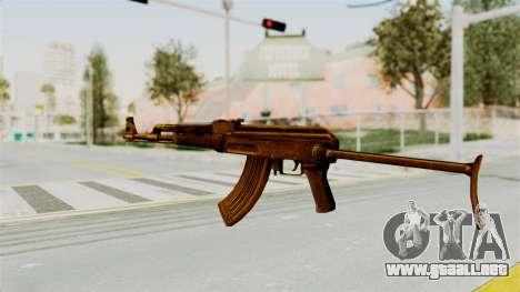 AK-47S Gold para GTA San Andreas segunda pantalla