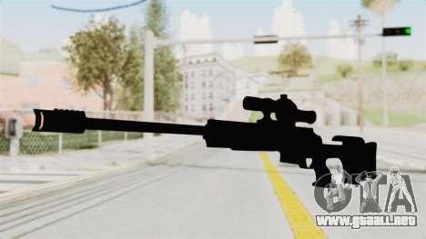 Longbow-DMR para GTA San Andreas segunda pantalla