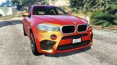 BMW X6 M (F16) v1.6 para GTA 5