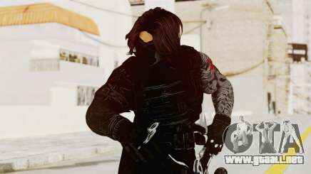 Captain America Civil War - Winter Soldier para GTA San Andreas