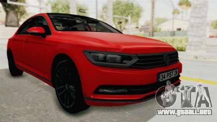 Volkswagen Passat B8 2016 Highline HQLM para GTA San Andreas