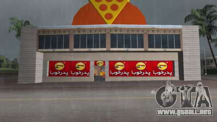 Pizza Shop Iranian V2 para GTA Vice City