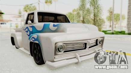 GTA 5 Slamvan Stock PJ1 para GTA San Andreas