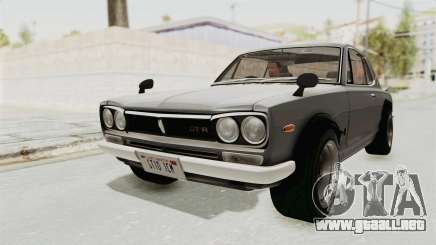 Nissan Skyline KPGC10 1971 para GTA San Andreas