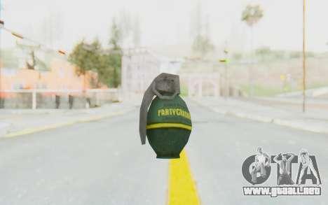 APB Reloaded - Grenade para GTA San Andreas tercera pantalla