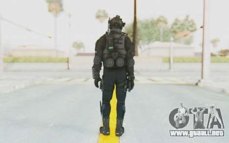 Federation Elite Assault Tactical para GTA San Andreas tercera pantalla