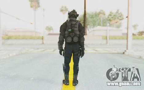 Federation Elite Assault Tactical para GTA San Andreas tercera pantalla