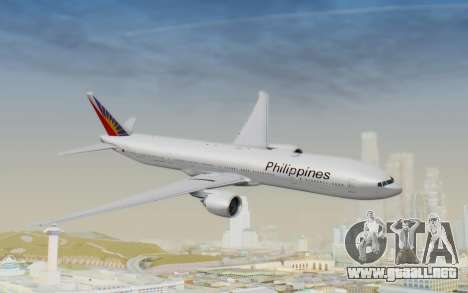 Boeing 777-300ER Philippine Airlines para GTA San Andreas