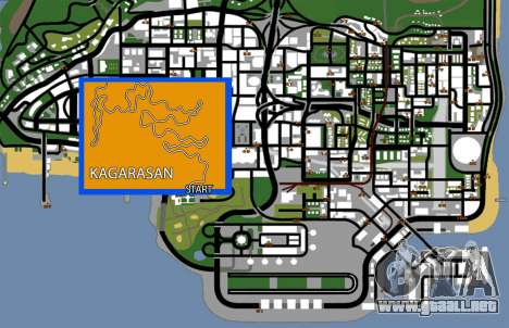 Kagarasan Pista para GTA San Andreas séptima pantalla