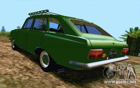 IZH-412 Combi para la visión correcta GTA San Andreas