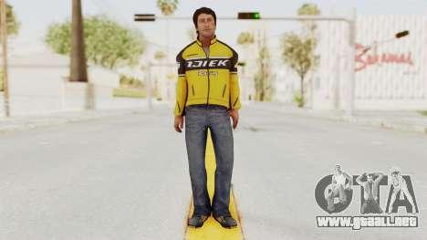 Dead Rising 3 Nick Ramos on Chucks Outfit para GTA San Andreas segunda pantalla