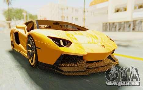 Lamborghini Aventador LP700-4 DMC para GTA San Andreas