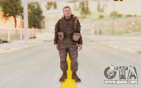 COD BO Mason Vietnam para GTA San Andreas segunda pantalla