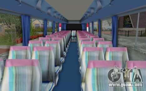 Neoplan Euro 2016 Hungarian Bus para GTA San Andreas vista hacia atrás