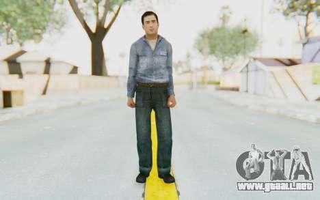 Mafia 2 - Vito Scaletta Prison Short Hair para GTA San Andreas segunda pantalla