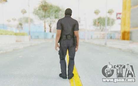 CoD BO2 LAPD v2 para GTA San Andreas tercera pantalla