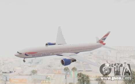 Boeing 777-300ER British Airways para GTA San Andreas