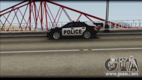 Subaru Impreza WRX STi Police Drift para la visión correcta GTA San Andreas