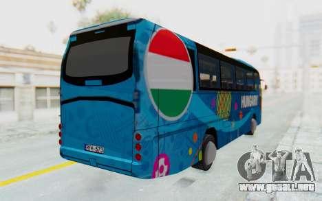 Neoplan Euro 2016 Hungarian Bus para GTA San Andreas vista posterior izquierda