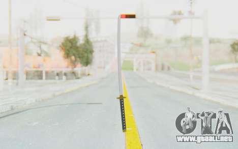 APB Reloaded - Katana para GTA San Andreas segunda pantalla