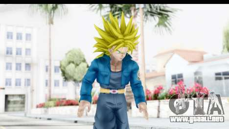 Dragon Ball Xenoverse Future Trunks SSJ2 para GTA San Andreas