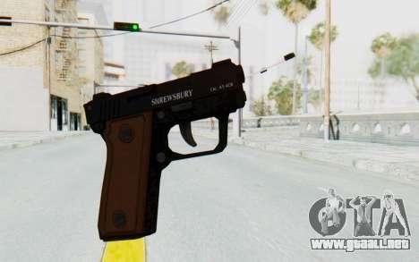 GTA 5 Shrewsbury SNS Pistol para GTA San Andreas segunda pantalla