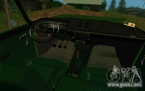 IZH-412 Combi para visión interna GTA San Andreas