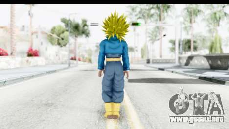 Dragon Ball Xenoverse Future Trunks SSJ2 para GTA San Andreas tercera pantalla