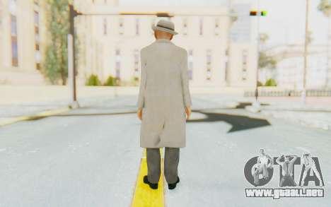 Mafia 2 - Jimmy Vendetta White Suit para GTA San Andreas tercera pantalla