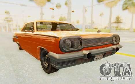GTA 5 Declasse Voodoo Alternative v1 PJ para la visión correcta GTA San Andreas