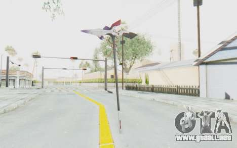 Levia Weapon para GTA San Andreas tercera pantalla