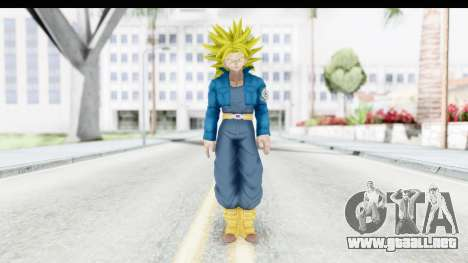 Dragon Ball Xenoverse Future Trunks SSJ2 para GTA San Andreas segunda pantalla