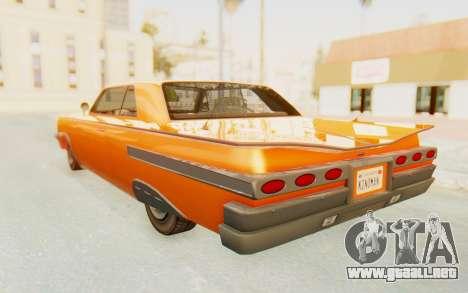 GTA 5 Declasse Voodoo Alternative v1 PJ para GTA San Andreas left