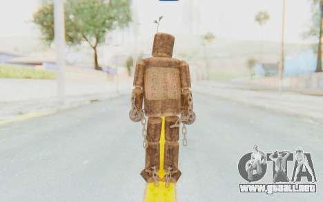 Mokujin para GTA San Andreas tercera pantalla