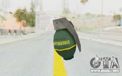 APB Reloaded - Grenade para GTA San Andreas segunda pantalla