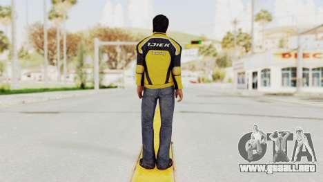 Dead Rising 3 Nick Ramos on Chucks Outfit para GTA San Andreas tercera pantalla