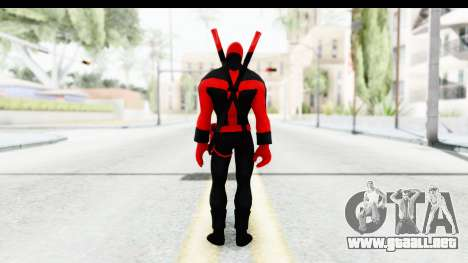 Marvel Heroes - Deadpool (Ultimate) para GTA San Andreas tercera pantalla