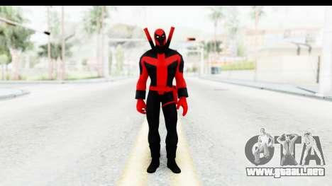 Marvel Heroes - Deadpool (Ultimate) para GTA San Andreas segunda pantalla