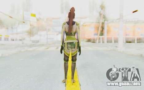 Dynasty Warriors 7 - Lian Shi v2 para GTA San Andreas tercera pantalla