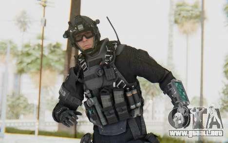 Federation Elite Assault Tactical para GTA San Andreas